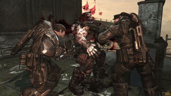 Gears of War 600x337 The Greatest New Franchises of the PS3 and Xbox 360 Era