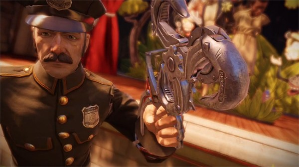 BioShock Infinite Mar 2 600x335 Fanatical Five | Top Five Most Ridiculous Weapons In Gaming (Watch!)
