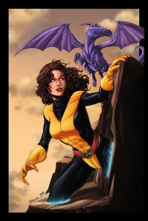 Kitty pryde and lockheed 300x446 Comics and the Gender Gap