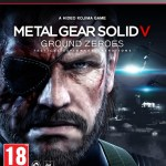 Metal Gear Solid V Ground Zeroes PS3 Boxart