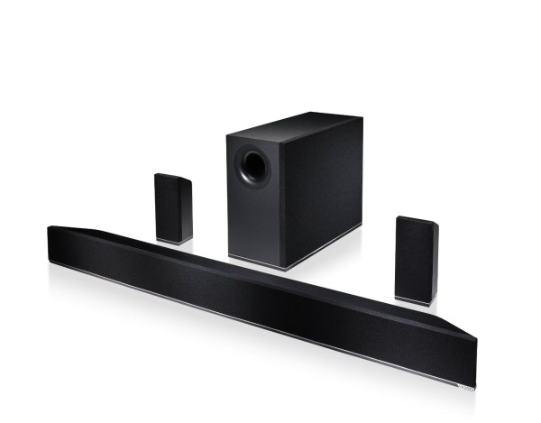 VIZIO 42 5.1 Home Theater Sound Bar 600x469 Fanatical Five | Top 5 Gaming Accessories for First Person Shooter Fanatics