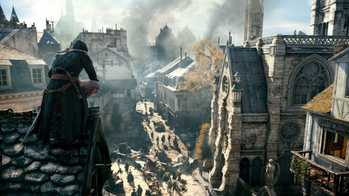 Assassins Creed Unity E3 700x393 E3 2014 | Assassin's Creed: Unity and its Impressive New Features