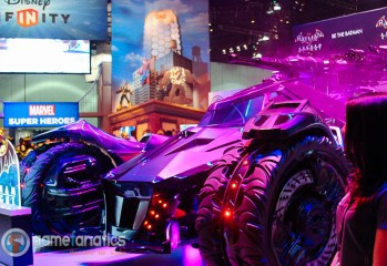 Warner Brothers Batmobile at E3