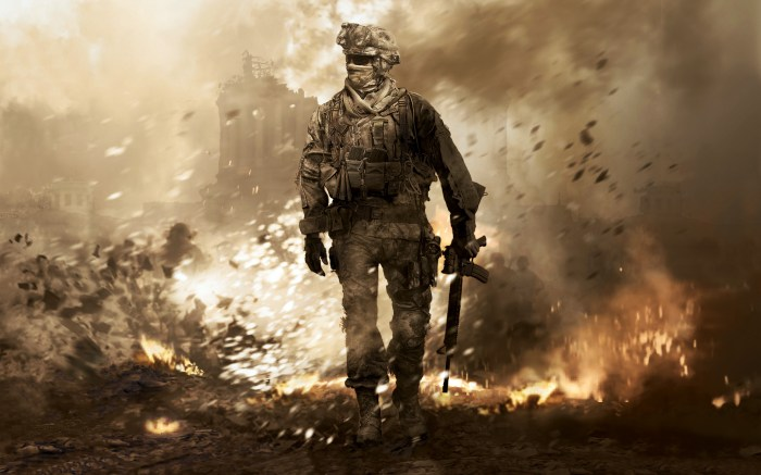 Call of Duty 4 Modern Warfare Wallpaper 109 700x437 When Did Linearity Become a Bad Thing?
