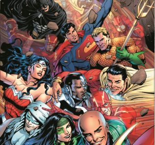 """Justice League"" #34 By Dale Eaglesham"