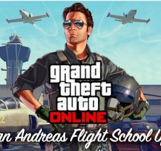 GTAO The San Andreas Flight School Update