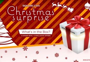 Square Enix Christmas Surprise Offers 6 Mysterious Steam Keys