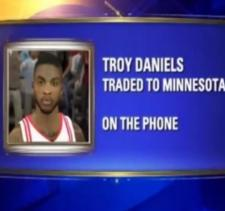 Houston's Fox26 Uses NBA 2K Screenshot of Rocket's Troy Daniels On Air