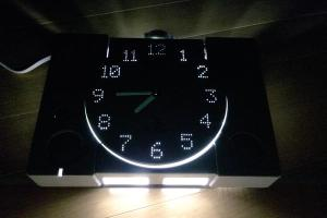 PlayStation Clock Lit