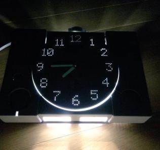 PlayStation Clock Lit