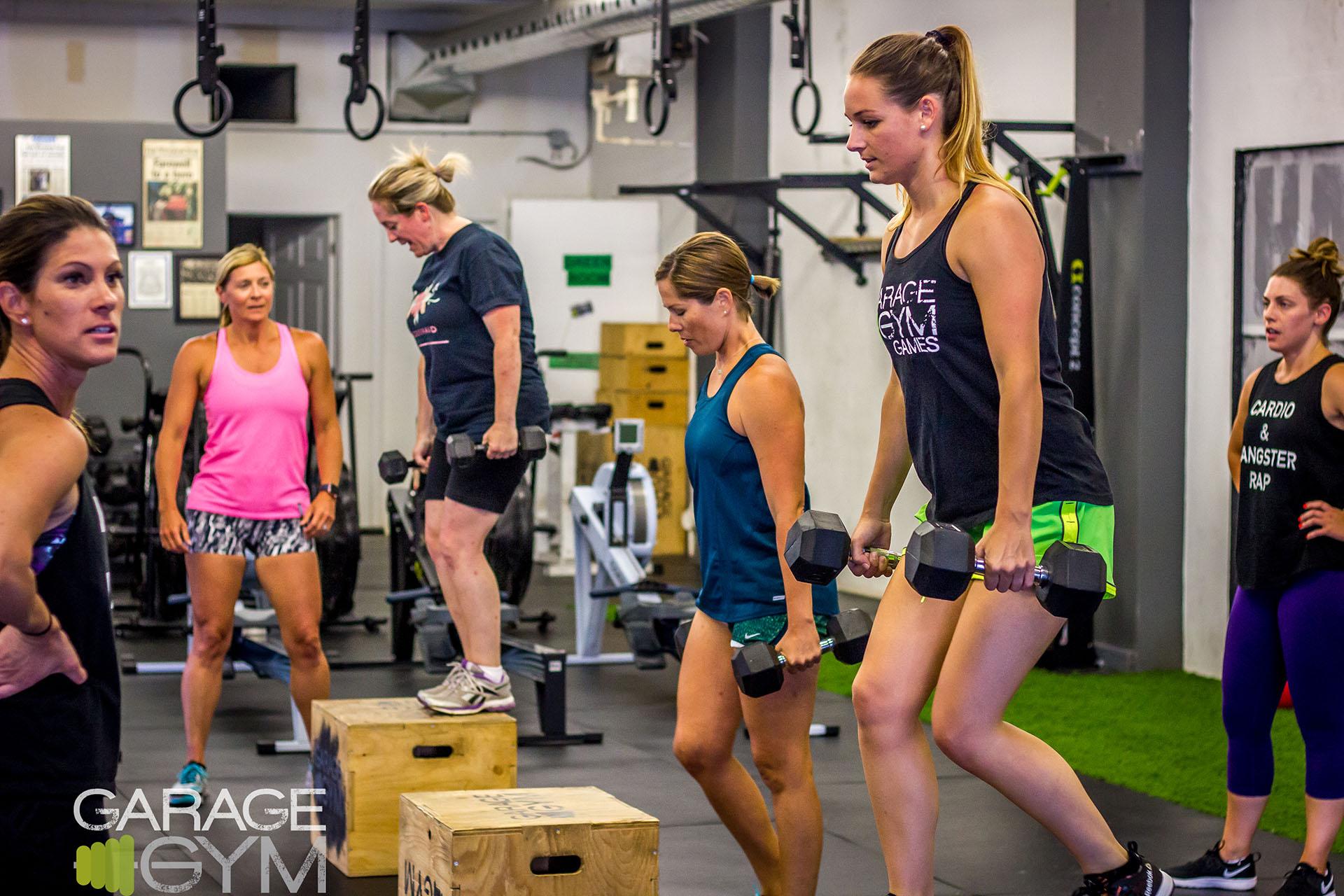 Garage gym girl garage gym girl instagram rep fitness strength