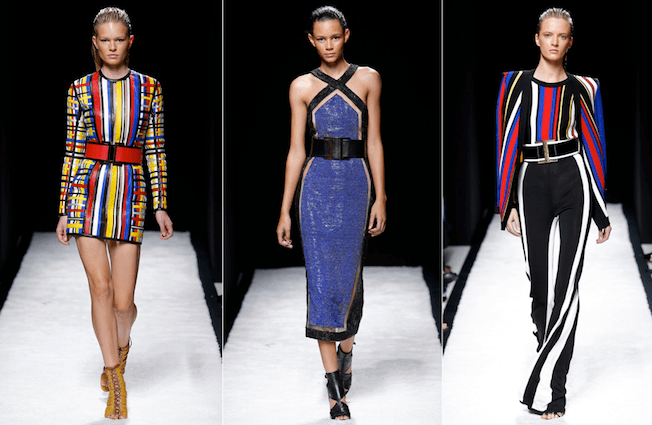 Balmain_The_Garage_Starlets_Paris_Fashion_Week_Spring_Summer_SS_2015_Ready_To_Wear_Collection_09