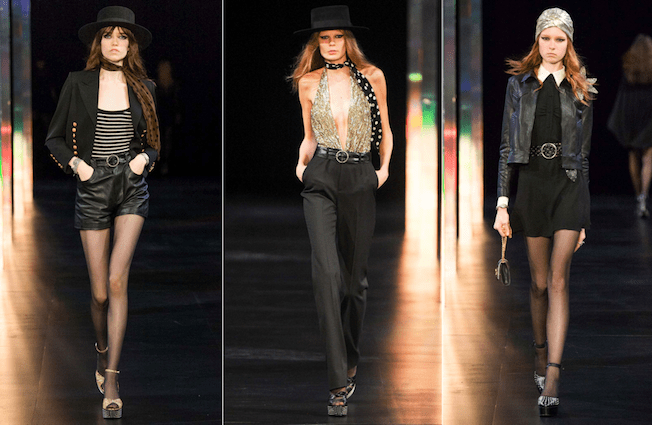 Saint_Laurent_The_Garage_Starlets_Paris_Fashion_Week_Spring_Summer_SS_2015_Ready_To_Wear_Collection_04