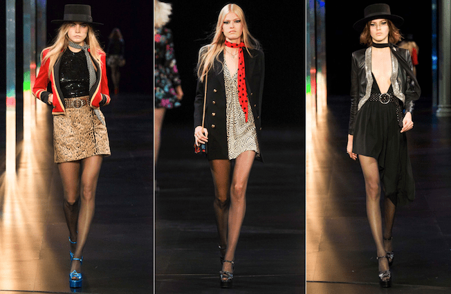 Saint_Laurent_The_Garage_Starlets_Paris_Fashion_Week_Spring_Summer_SS_2015_Ready_To_Wear_Collection_08