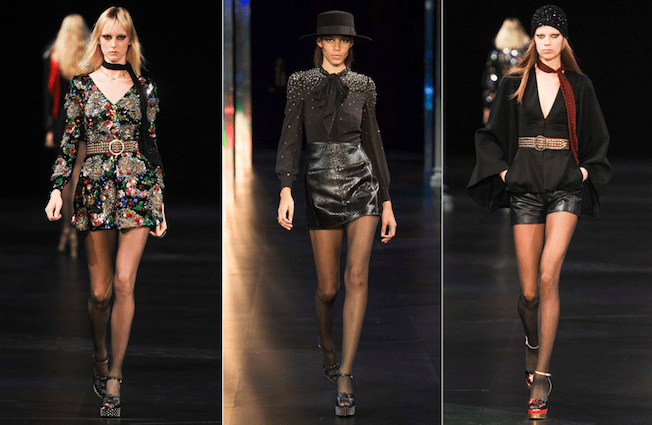 Saint_Laurent_The_Garage_Starlets_Paris_Fashion_Week_Spring_Summer_SS_2015_Ready_To_Wear_Collection_09