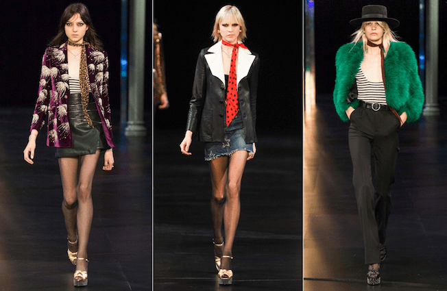 Saint_Laurent_The_Garage_Starlets_Paris_Fashion_Week_Spring_Summer_SS_2015_Ready_To_Wear_Collection_11