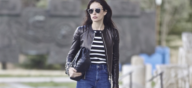 The_Garage_Starlets_Katia_Peneva_Popov_Gucci_Biker_Jacket_Zara_Topshop_Mom_Jeans_Chanel_Bag_Saint_Laurent_Ankle_Boots_Christian_Dior_Sunnglasses_06 copy