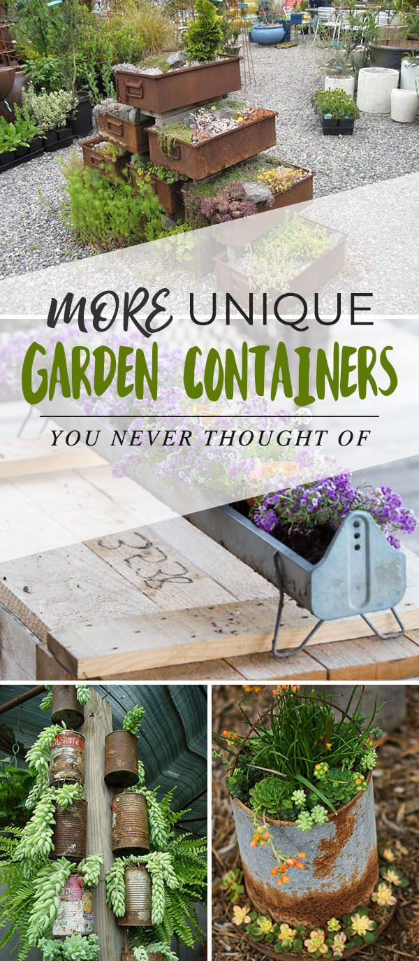 Outdoor Planters Near Me More Unique Garden Containers You Never Thought Of The Garden