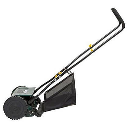 The garden tool shed 38cm hand push cylinder lawnmower for Aldi gardening tools 2015