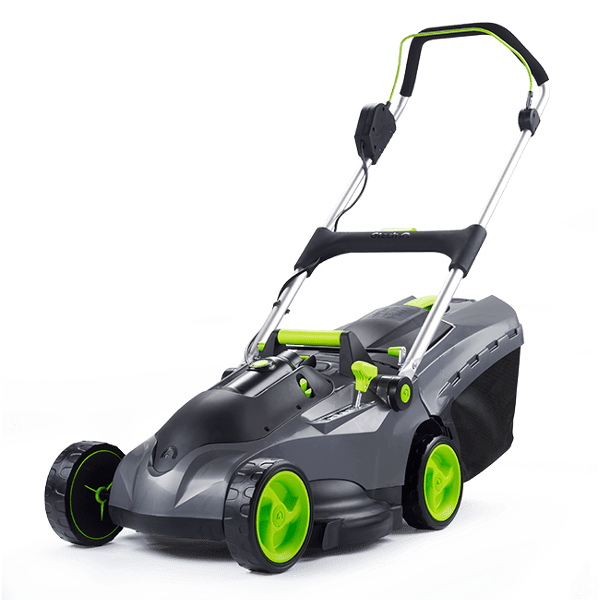The Garden Tool Shed Gtech Falcon 43cm Cordless Lawnmower