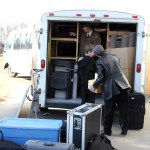 Dad, Ben, and Sam packing up the trailer (Glendorado Lutheran Church, Princeton, MN on Nov. 18th)