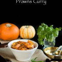 Pumpkin and Prawns Curry with Indian Five Spice (Kumro-Chingri Torkari)