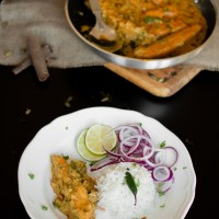 Salmon in Yogurt Gravy (Doi-Maach)