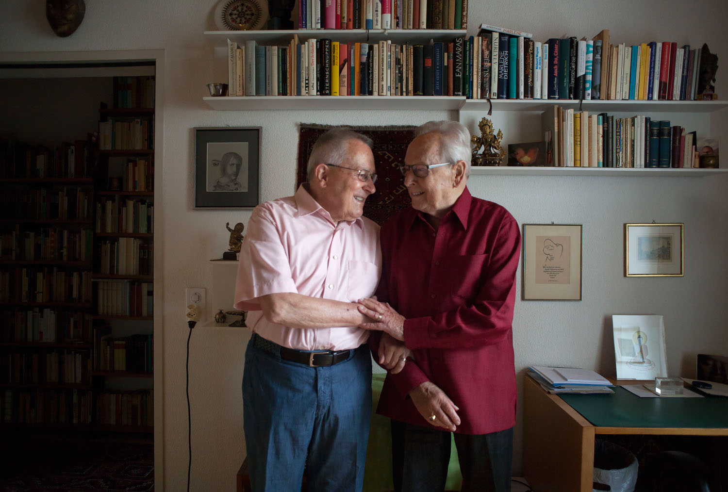 Ernst (left) and Robi (right), photo by Kevin Truong