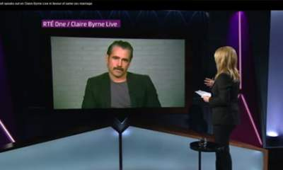 Colin Farrell interviewed by Claire Byrne on Same Sex marriage