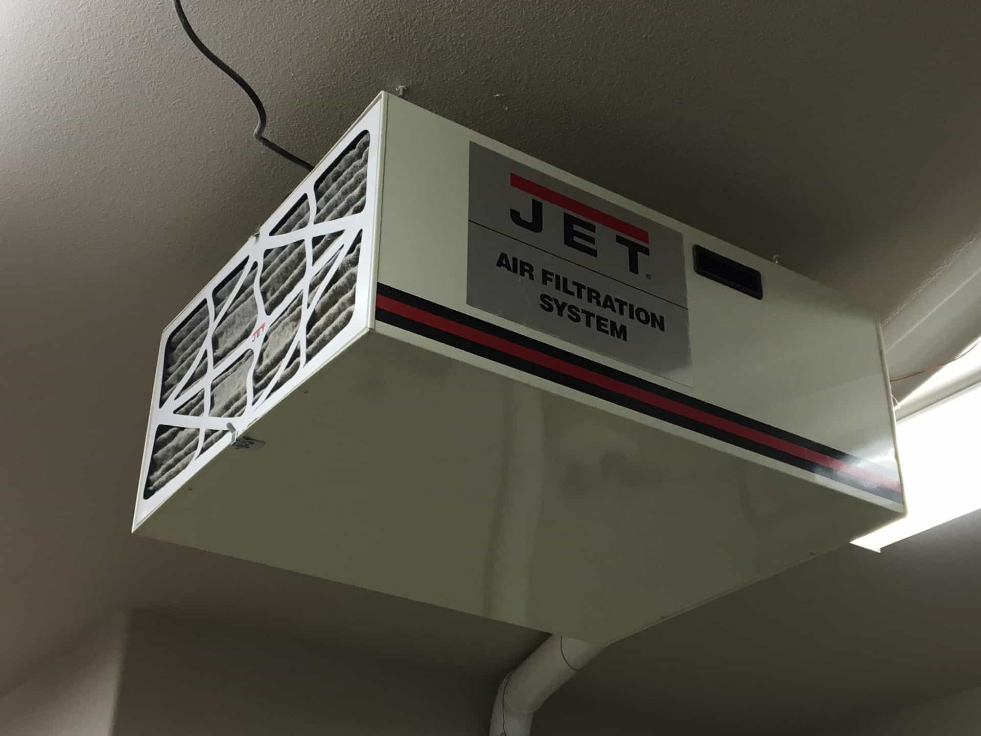 Shop Tour Jet Air Filtration System Afs 1000b The Geek Pub - Air Filtration System