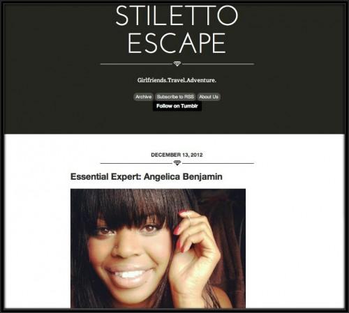 Stiletto Escape: Essencial Expert, December 2012