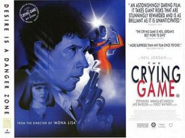 The Crying Game movie poster - The Crying Game - gender identity, nationalism