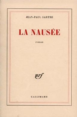 Nausea book cover - Jean-Paul Sartre