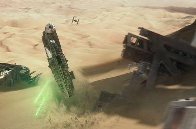 Star Wars Episode VII: The Force Awakens Jakku chase scene - J.J. Abrams - pacing criticism