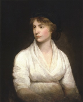 Mary Wollstonecraft by John Opie - Jane Eyre - Charlotte Brontë - feminism and vision