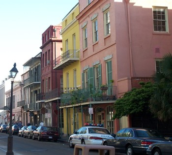 colorful houses in New Orleans - A Confederacy of Dunces - John Kennedy Toole - characters, picaresque