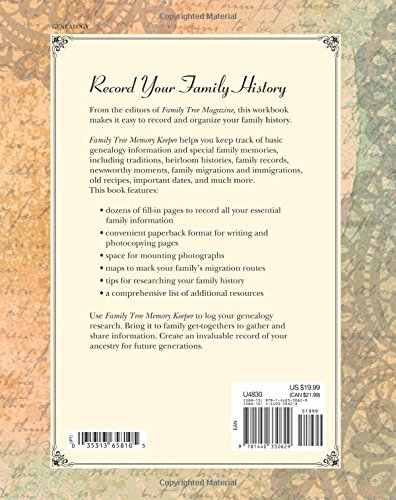 4 Family History Book Templates and Workbooks - The Genealogy Guide
