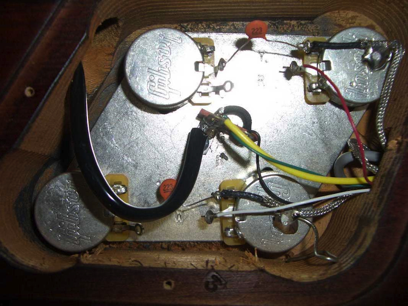Guitar How-To Replacing the electronics in a Les Paul \u2013 Jahn