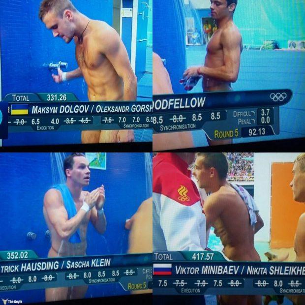 rio olimpiyatlarından komik mayo resimleri 7