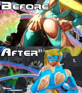 r mika no no more butt slaps street fighter v