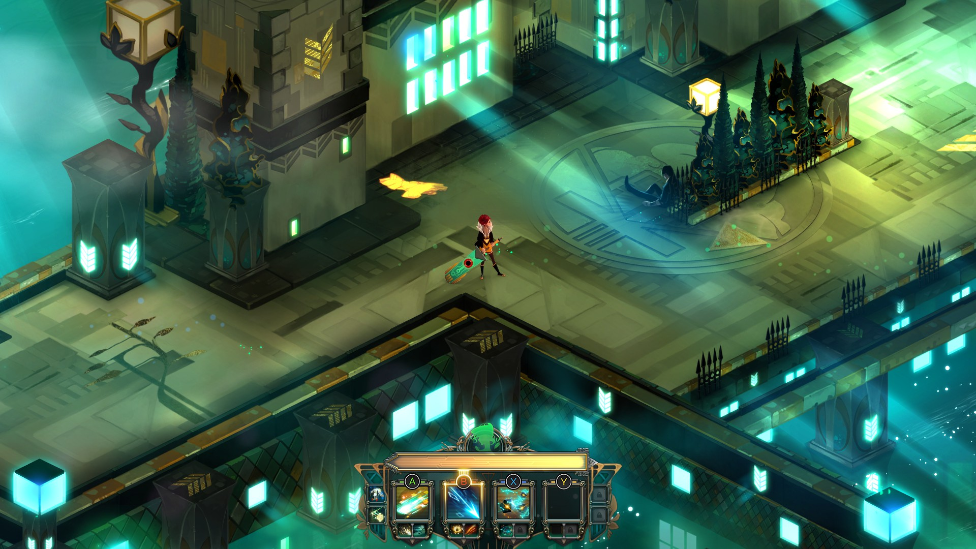Games Transistor Unreal City Gaming Intelligence Agency