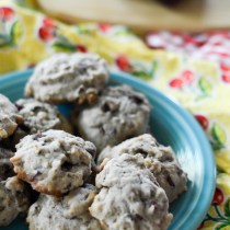 Chocolate Pecan Cherry Cookies - Cooking with Kids - The Gifted Gabber