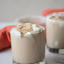This Slow Cooker Pumpkin Spice Mocha is the perfect fall party drink. - The Gifted Gabber