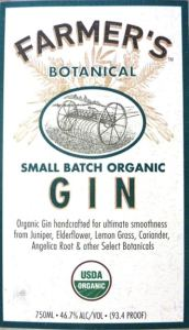 Farmer's Gin Label