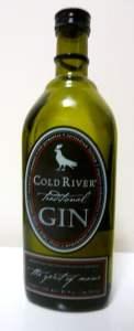 Cold River Gin Bottle