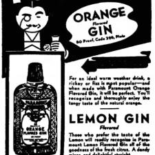 Paramount Lemon Gin, 1937