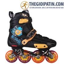 Skates World X6 Vàng Đen