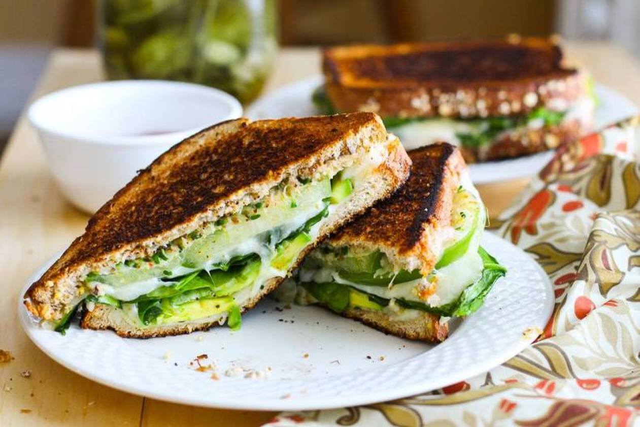Will you be trying these Green Goddess Grilled Cheese Sandwiches? If ...