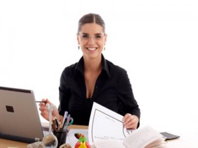 happy working women