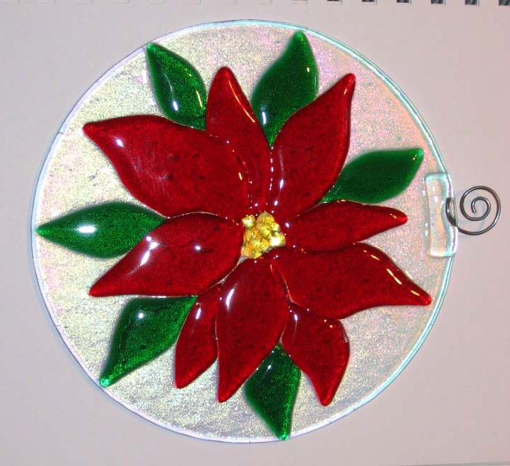 christmas stained glass ornaments